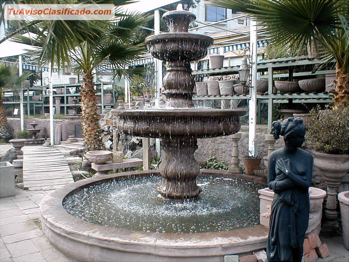 Fuentes de agua jardin best clsica decoracin del jardn for Fuente agua jardin