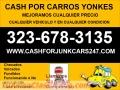 DINERO POR JUNK CARS $$$