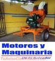 DESGRANADORAS DE MAIZ Y MAICILLO CON MOTOR DIESEL DE 28HP Y TRAILER AGRICOLA.