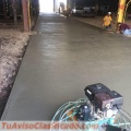 Professional concrete services - decks - pool foundations