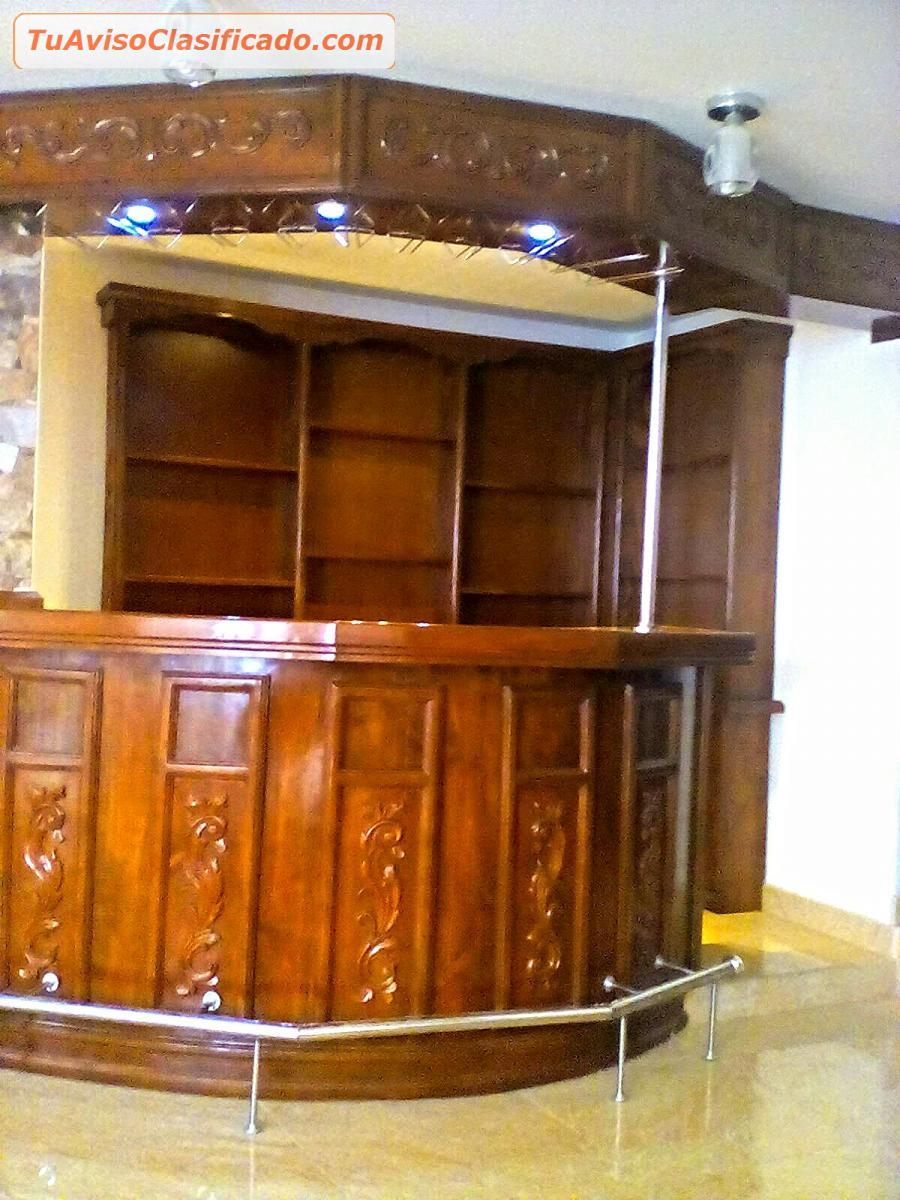 Bares Muebles Tallados Peruanos Mobiliario Y Equipamiento D  # Muebles Tallados A Mano