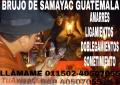 AMARRES DESDE SAMAYAC GUATEMALA