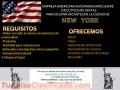 ATENCIÓN NEW YORK TENEMOS VACANTES PARA VENTAS