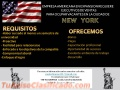 EMPRESA EN NEW YORK DISPONE DE VACANTES PARA  LATINOS