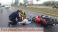 LESION EN ACCIDENTE DE TRAFICO