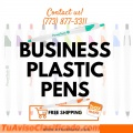 Personalized pens with your name or company logo
