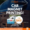 Custom car magnets for business