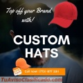 Custom hats embroidered
