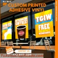 Custom self adhesive vinyl signs | Phone: (773) 877-3311