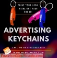 Printed promotional keychains