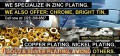 Offers in quality plating specialized in zinc