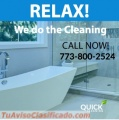 Guaranteed cleaning services in Chicago