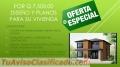 Oferta de Diseño y Planos para viviendas