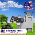 MKBC06.The briquettes or solid fuel block are bio-fuels to generate heat used in stoves