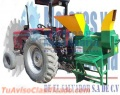 DESGRANADORAS DE MAIZ Y MAICILLO CON TRAILER AGRICOLA Y MOTORES DIESEL DE 30HP