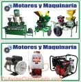 MAQUINARIA AGRICOLA . MOTORES Y MAQUINARIAS