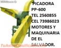 PP-600 PICADORAS PARA ENSILAR