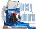 DESGRANADORAS DE MAIZ Y MAICILLO CON TRAILER AGRICOLA Y MOTOR DIESEL DE 16HP arranque elec